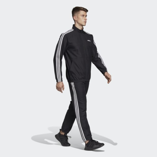 Adidas 3 Stripes Woven Cuff Tracksuit