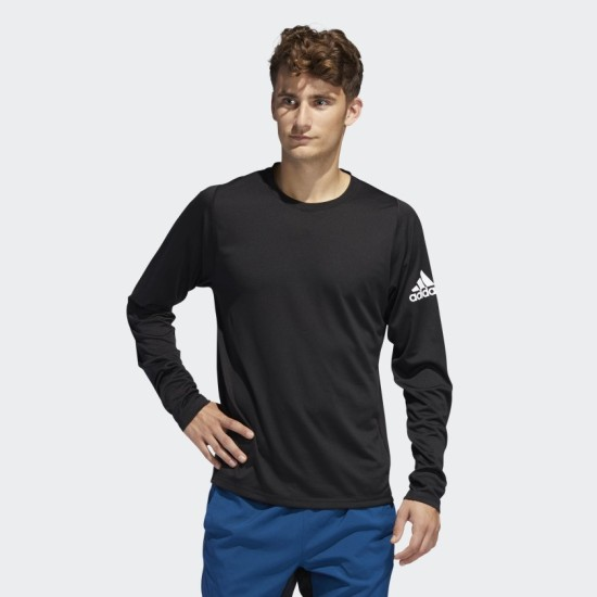 adidas Freelift Solid Badge Of Sport Long Sleeve Top