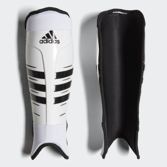 Adidas Hockey Adult Shin Guards White / Black