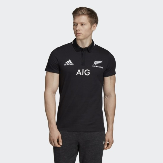 adidas New Zealand All Blacks 18/19 Adult Home Rugby Jersey