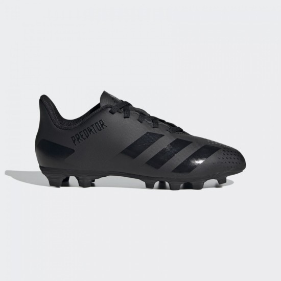adidas Predator 20.4 FxG Junior Boots Black / Black / Grey
