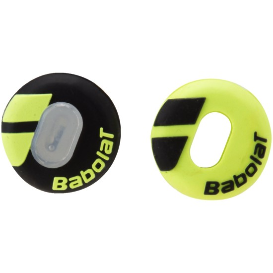 Babolat Custom Dampeners (Pack of 2) Black / Yellow