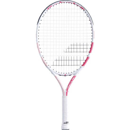 Babolat Drive 23 Inch Junior Tennis Racket White / Pink (2021)