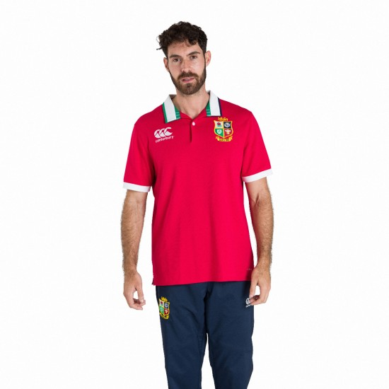 British & Irish Lions Classic Jersey Red