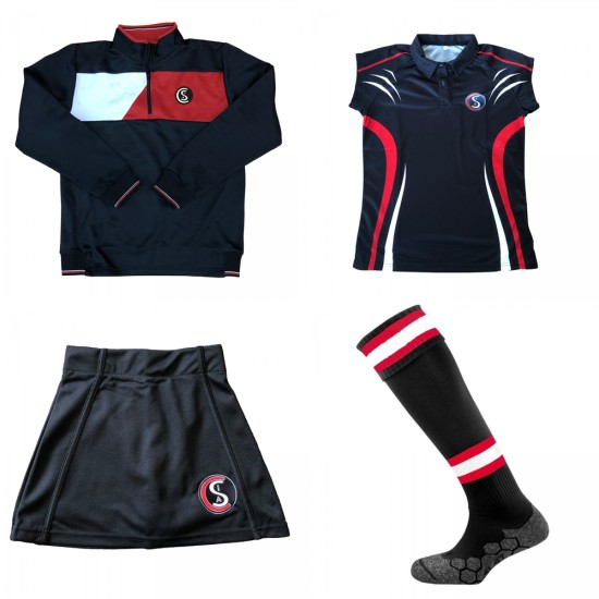 Camborne Science & International Academy Girls Sports Kit Bundle