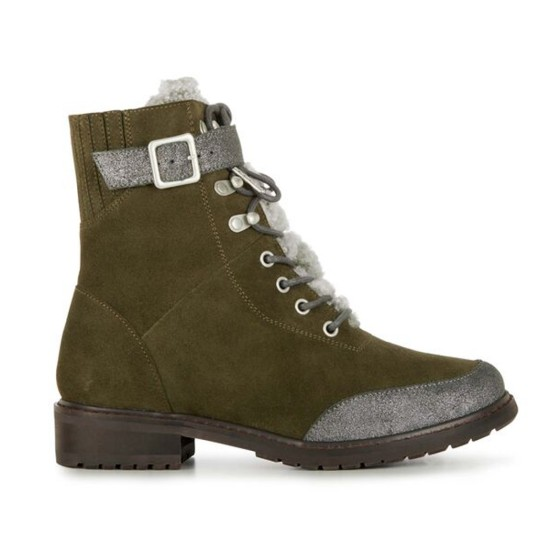 EMU Waldron Boots Dark Olive / Olive Force