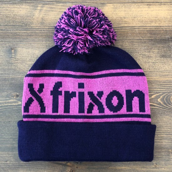Frixon Bobble Hat Beanie Purple / Pink
