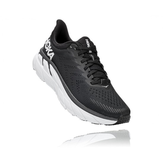 Hoka One One Clifton 7 Black / White