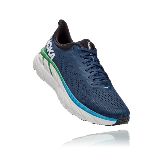 Hoka One One Clifton 7 Moonlit Ocean / Anthracite