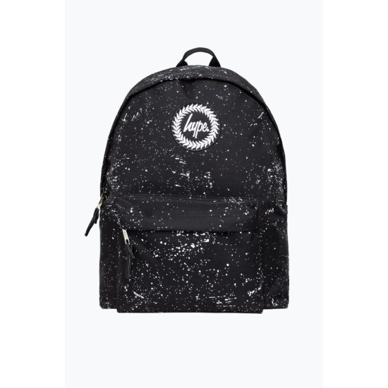 Hype Speckle Backpack Black / White