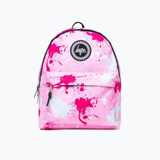 Hype Splatter Pink Backpack