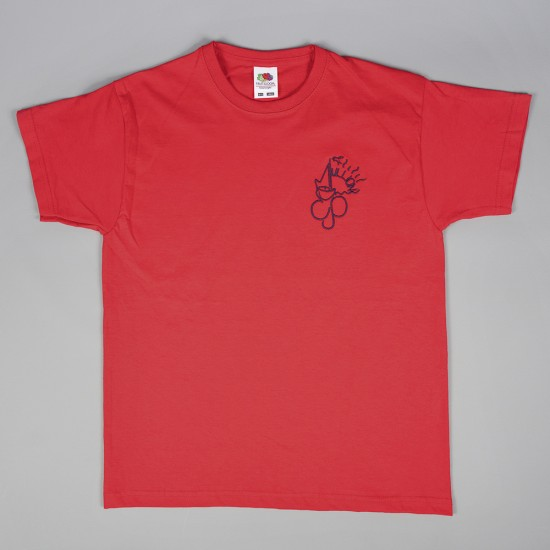 Mullion CP School T-Shirt Red