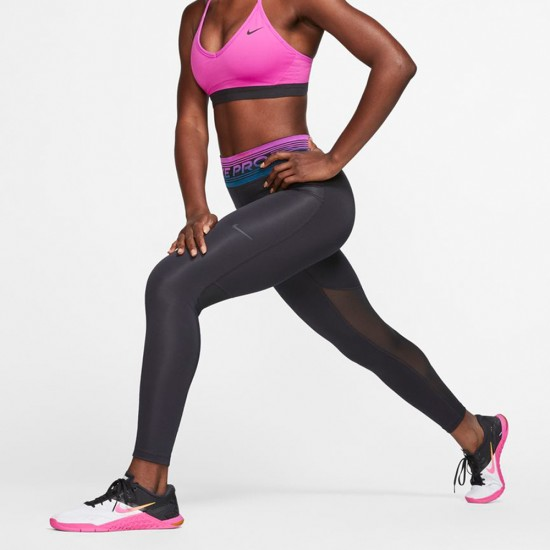 Nike Pro Tights Black / Dark Smoke Grey