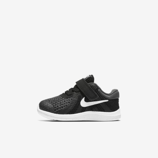 Nike Revolution 4 Baby & Toddler Shoes Black / White
