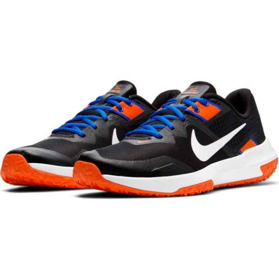 diario Claraboya oportunidad  Nike Varsity Compete TR 3 Black / White - Racer Blue - Orange The Nike  Varsity Compete TR 3 gives you stability and traction during lifts or  agility drills. Durable construction from