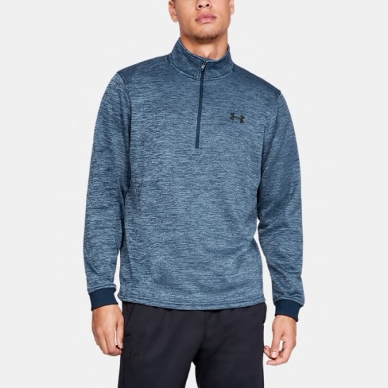 Under Armour Fleece ½ Zip Fleece Navy Blue