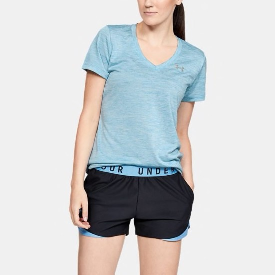 Under Armour Twist Tech V-Neck T-Shirt Blue